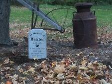 Personalized, Engraved Pet Memorial Head Stone, Cat, Dog, Horse, Garden Decor