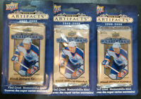 2008-09 upper deck Hockey Artifacts blister pack - 3 pack special factory sealed