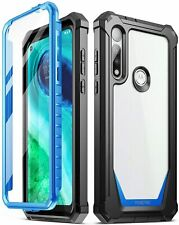 Moto G Fast Shockproof Clear Case,Poetic Hybrid Armor Bumper Protective Cover