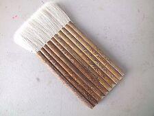 Giapponese Cinese M pelo di capra 10 Bastone di bambù pennello pittura NASELLO Craft Art A2