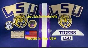 LSU FS Helmet Decal Set with all the extras>>>>