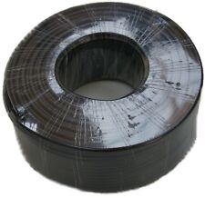Rg-58u de cable coaxial negro 50 Ohm - 100m papel