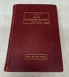 Traité d'anatomie humaine tome quatrième 1912 L Testut