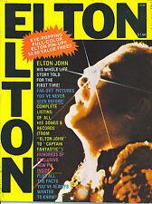 Elton John Elton! rare book with fantastic poster from 1975