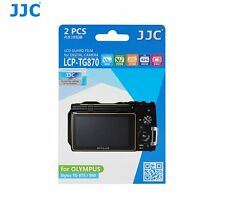 JJC LCP-TG870 LCD Screen Protector Protection Guard Film for Olympus TG-870/860