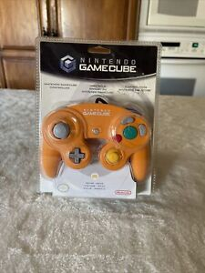 Orange- Spice Official Nintendo GameCube Controller ..Brand NEW!!