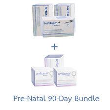 Amitamin fertilsan M + fertil F Capsules 90-Day PRE-NATAL BUNDLE