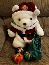 1998 Santa Bear, Dayton Hudson's, Santa Christmas Sack and Presents