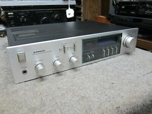PIONEER SA-620 BLUE LINE VINTAGE CLASSIC  INTEGRATED AMPLIFIER PHONO
