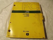John Deere _Parts Catalog 3300 Combine_ Pc-1163_Vintage Original_Very Good