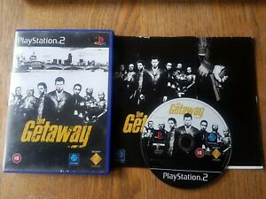 The Getaway  (PlayStation 2, 2002) ** ARTWORK,DISC,MAP & MANUAL ONLY **