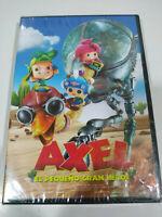Axel Il Piccolo Grande Eroe Animazione - DVD Regione 2 Spagnolo Inglese Nuovo 3T