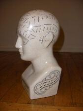 "Vintage Phrenology  11""  bust by L. N Fowler"