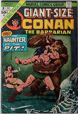 Giant-Size Conan #2 (Dec 1974, Marvel) VG condition