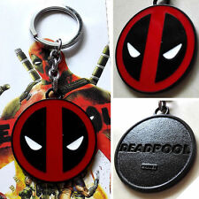 Deadpool Logo Avengers Marvel Heroes Comics Pewter Key Chain Ring Charm select