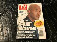 NOV 2 1996 TV GUIDE vintage television magazine MICHAEL JORDAN - ILL/WI edition