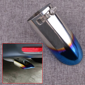 Tail Rear Exhaust Muffler Tip Pipe Cover Fit For Nissan Rogue X-Trail 2014-2019