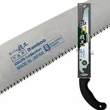 KAKURI Japanese 210mm Bamboo saw plus 1 spare blades