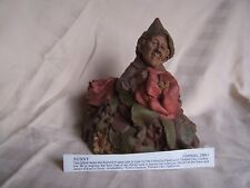 Tom Clark Gnome Nunny flowers camellia retired special creation Kool's Candies