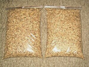 2 x 10l of 100% NATURAL BEST QUALITY SMOKING WOOD CHIPS for BBQ & FOOD SMOKERS.