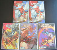 (5) Book AMAZING SPIDER-MAN Marvel Comic Variant Cover LOT (2018) #800 (NM+)