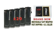 20 PACK CASE Refillable Jet Flame Torch Lighters Wholesale Bulk Cigar Lighter