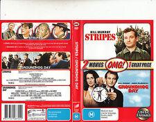 Stripes-1981/Groundhog Day-1983-Bill Murray-2 Movie-DVD