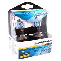 H7 Halogen Lampen Xenon Optik 8500K Dunlop Blue Blau Birnen mit E4 Prüfzeichen