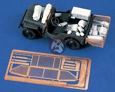 Verlinden 1/35 Willys MB Jeep Reconnaissance & Command Conversion (Italeri) 1273