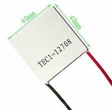 1PCS TEC1-12708 Heatsink Thermoelectric Cooler Cooling Peltier Plate Module