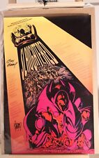 MARVEL 1996 ONSLAUGHT SLAUGHTERED POSTER SIGNED ANDY & ADAM KUBERT 24 X 36 RARE