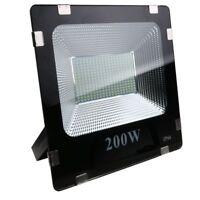 NEU 200W LED Fluter Außen Strahler Flutlicht Scheinwerfer IP65 Kaltweiß 16000LM