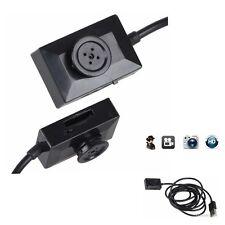 Newest Super Mini Button Camera Pinhole Hidden Cam Security DVR Video Recorder