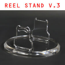 New Clear Reel Foot Exhibition Stand For Baitcasting Shimano Daiwa Abugarcia etc