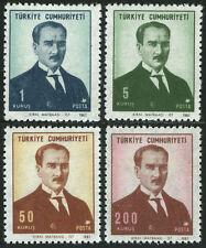 Turkey 1767-1770, MI 2082-2085, MNH. Kemal Ataturk, 1968