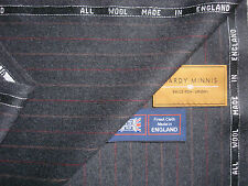 100% PURE WOOL ENGLISH FLANNEL SUITING FABRIC MADE IN Huddersfield England– 3.4m