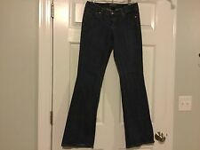 Authentic Seven 7 for all Mankind Women's Flare Blue Jeans, Size 28  $198 EUC
