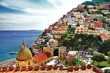Wentworth Pictorial Amalfitana Coast Positano 40 Piece Mini Wood Jigsaw Puzzle
