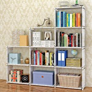 Shelf Cube Storage Cabinet Organiser Bookshelf Unit Shelves