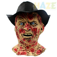 Freddy Cosplay Mask Zombie Mask Walking Dead Mask Party Halloween Props Adult