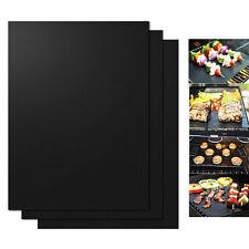3Pcs BBQ Grill Mat Reusable Sheet Resistant Teflon Non-Stick Barbecue Bake Meat
