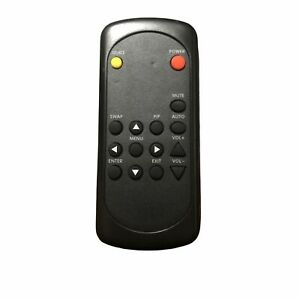 NAD Remote Control Tested Working Black