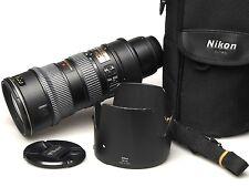 Nikon Nikkor 70-200 mm f/2.8 g VR if ed AF-S if-ed objetivamente