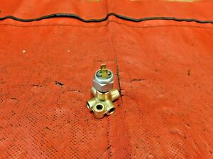 Triumph, MG, Austin Healey, 5-Way Brake Line Union w/ Brake Switch, Brass, !!
