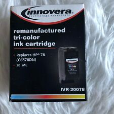 Innovera Remanufactured Tri-Color Ink Cartridge for HP 78 C6578DN IVR-20078