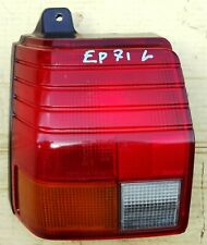 TOYOTA STARLET EP70 MODEL 1985 89 REAR TAIL LIGHT LEFT USED