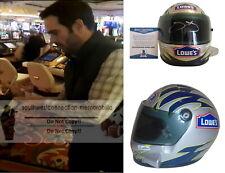 Jimmie Johnson Signed Autographed Racing Nascar Mini Helmet Proof Beckett BAS