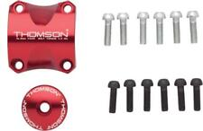 Thomson Stem Faceplate Dress Up Kit For X4: 31.8mm Red