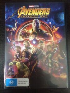 *** Brand New!!! Avengers: Infinity War (DVD) R4 ***