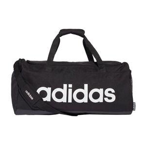adidas Performance Linear Duffle Bag Medium schwarz/weiß - Sporttasche FL3651